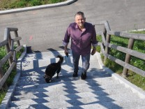Thomas Huber mit Hund Lisl