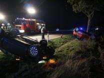 Verkehrsunfall am 20.09.2018 Bundesstraße 2 zwischen Mammendorf und Hattenhofen