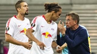 RB Leipzig: Trainer Ralf Rangnick beim Europa-League-Spiel gegen Red Bull Salzburg