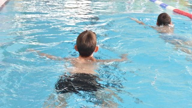 Schwimmkurs für Kinder in München, 2018