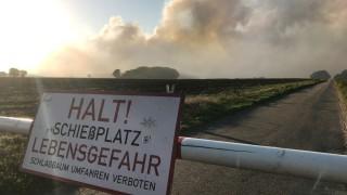 Moorbrand im Emsland