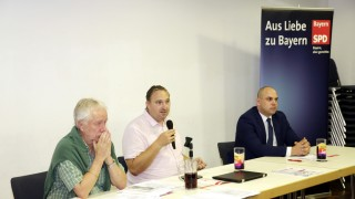 Pflege SPD-Podium in Geretsried