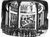Revolution 1848 - Vorparlament in der Paulskirche