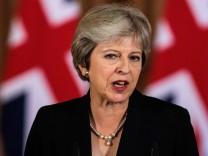 Theresa May auf dem EU-Gipfel 2018 in Salzburg