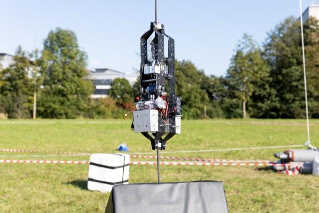 European Space-Elevator-Challenge am Forschungscampus der TU Garching, 19.09.2018.