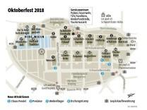 Oktoberfest Zeltplan 2018