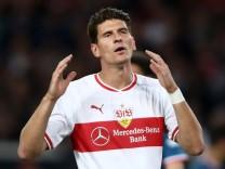 Mario Gomez beim Bundesliga-Spiel VfB Stuttgart gegen Fortuna Duesseldorf