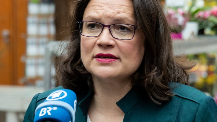 Andrea Nahles zum Fall Maaßen