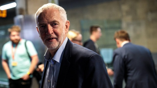 Jeremy Corbyn Travels Crossrail For The North Route