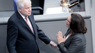 Horst Seehofer - Andrea Nahles