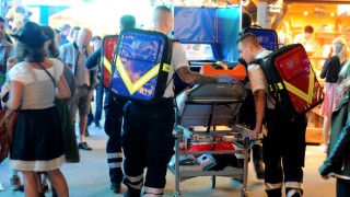 Oktoberfest: Rettungskräfte auf der Wiesn 2018