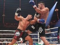 Stekos Fight Night 2018 Kickboxen Weltmeisterschaft Thaiboxen WKU Verband bis 95 kg Michael