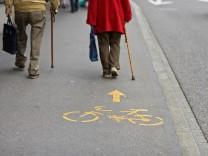 Fahrradfahren in Zürich