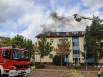 Brand in Bamberger Ankerzentrum