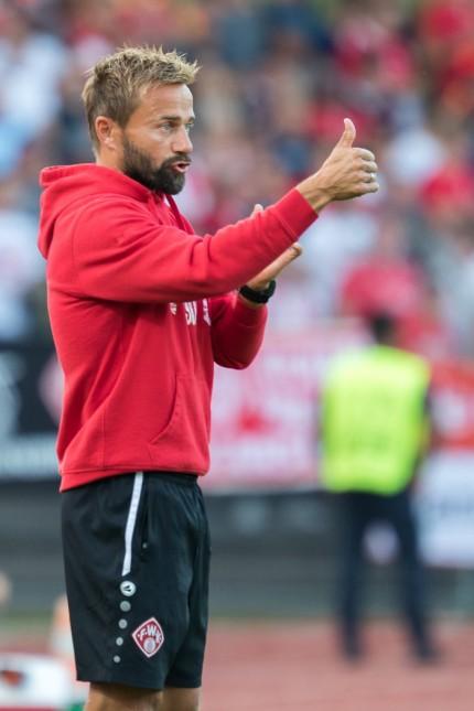 Sport Bilder des Tages 12 09 2018 xomx Fußball Toto Pokal Achtelfinale 1 FC Schweinfurt 05 FC