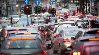 Autoverkehr in Düsseldorf
