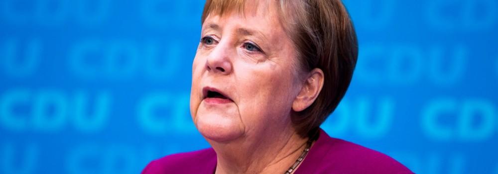 Angela Merkel gesteht im Fall Maaßen Fehler ein