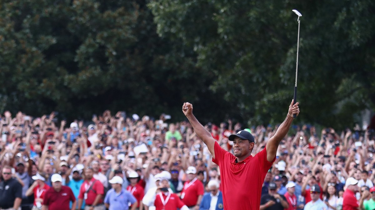 Tiger Woods gana golf nuevamente