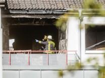 Hamburg: Ein Toter bei Brandanschlag