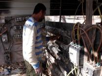 Irak: Elektriker in Bagdad