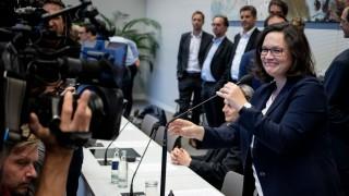 Sondersitzung der SPD-Bundestagsfraktion