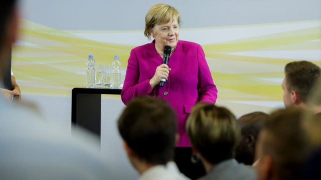 EU Citizens' Dialogue with Chancellor Angela Merkel