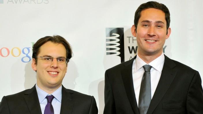 Instagram-Gründer Mike Krieger und Kevin Systrom