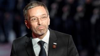 Herbert Kickl auf der EU-Innenminister-Konferenz in Wien