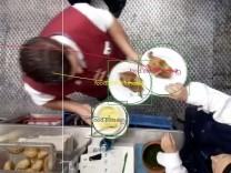 Digitalisierung auf dem Oktoberfest: Die Software erkennt Art und Menge aller verkauften Speisen.