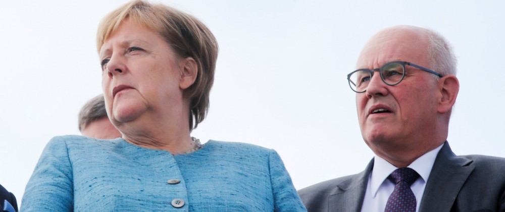 Angela Merkel, Volker Kauder, Unionsfraktion