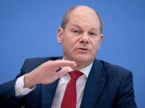 Bundesfinanzminister Olaf Scholz (SPD) 2018 in Berlin