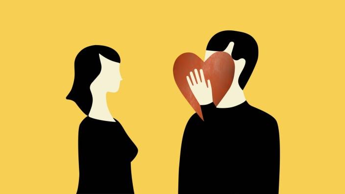 Schüchterne Menschen sind gegenüber dem anderen Geschlecht oft gehemmt