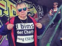 CSU-Landtagsabgeordneter Karl Freller in seinem Wahlkampf-Youtube-Video