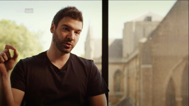 zeigen Vasilios Mavroudis, Informatiker aus Griechenland, Copyright privat