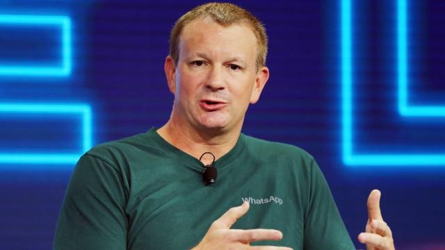 Whatsapp-Gründer Brian Acton