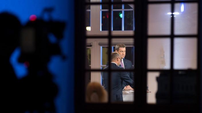 TV-Duell zur Landtagswahl