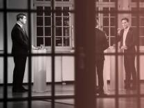 Markus Söder gegen Ludwig Hartmann - TV-Duell zur Landtagswahl