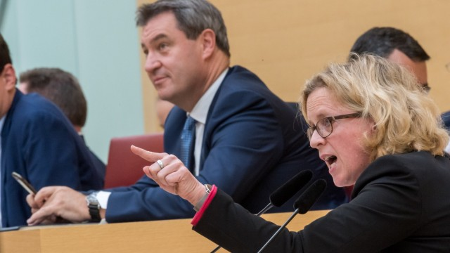 Letzte Plenarsitzung im bayerischen Landtag vor der Wahl
