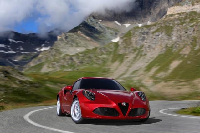 Alfa Romeo 4C Foto: Alfa Romeo Online-Rechte?: Ja