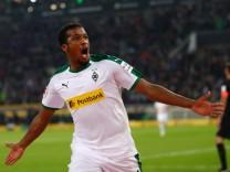 Alassane Plea beim Bundesliga-Spiel gegen Borussia Mönchengladbach