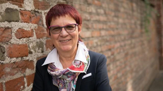 Marita Krauss, Historikerin, fotografiert in der Jungfernturmstraße