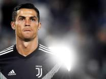 Cristiano Ronaldo beim Serie-A-Spiel Juventus Turin gegen FC Bologna