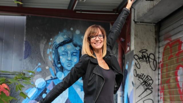 """Birgit Schober vom Verein """"Dance against"""", 2018"""