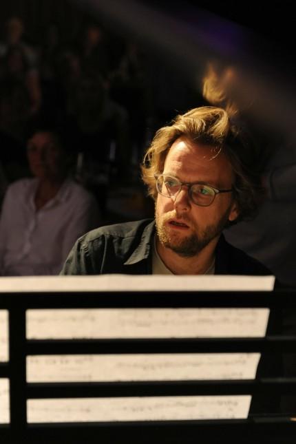 Matthias Bublath Pianist beim Konzert in Grafing