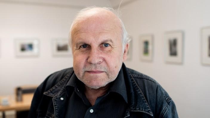 Seniorenbegleiter Johann Berthold (67) am 27. September 2018 in München-Sendling.