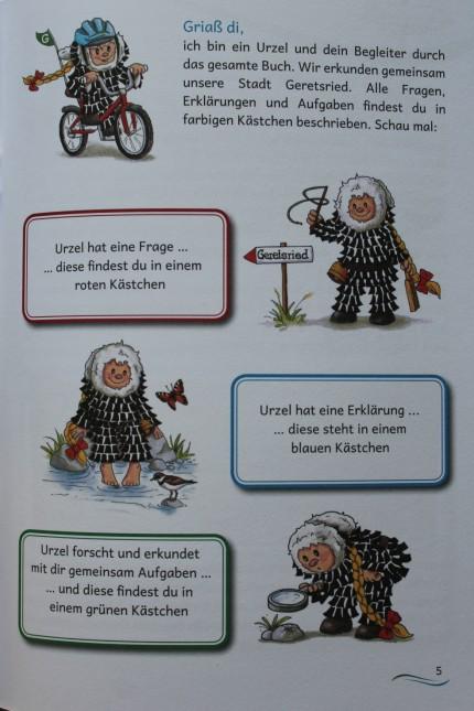 Kinderbuch Stadtgeschichte von Geretsried