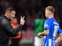 Pal Dardei beim Bundesliga-Spiel Hertha BSC Berlin gegen den FC Bayern München