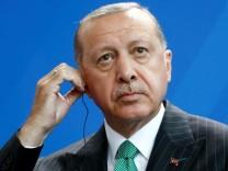 Recep Tayyip Erdoğan bei seinem Besuch in Deutschland