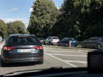 Verkehr in München auf dem Föhringer Ring
