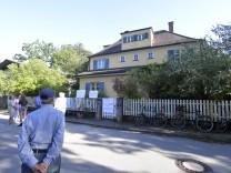 Demonstration gegen den Abriss einer Villa in Münchnen, 2018